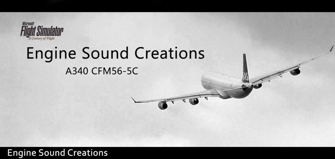 Engine Sound Creations A340