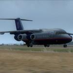 Und noch eine! BAE 146 von CLS