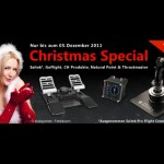Aerosoft Christmas Special: 20% auf Hardware