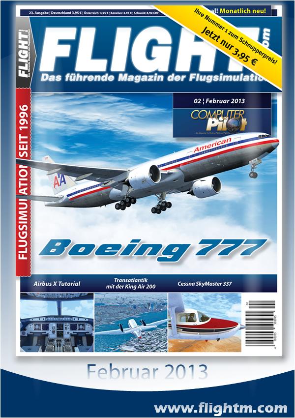 Die neue Flight! Ausgabe – Nummer 2 im Jahr 2013