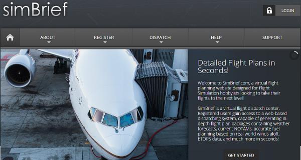 Tip: SimBrief – kostenlos Flugpläne online planen und exportieren