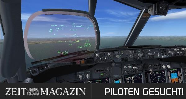 ZEITmagazin – Piloten gesucht