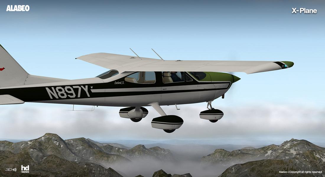 Alabeo C177 Cardinal II für X-Plane erschienen
