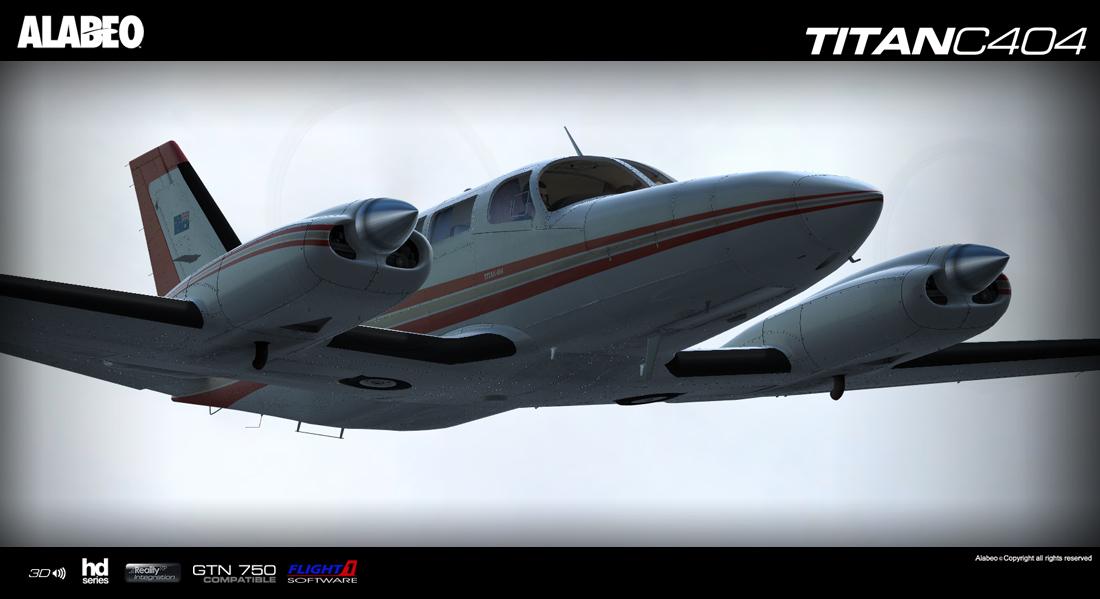 Alabeo C404 TITAN erschienen