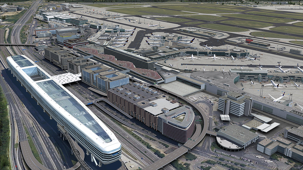 Mega Airport Frankfurt V2 released!