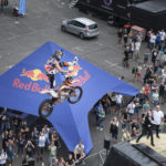 Stand: Red Bull X-Fighters FMX Demo Show, Halle 8 Outdoor area
